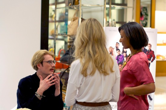 NMdaily Contributor Allison and Stylebook Co-founder Jess interview Austin at Neiman Marcus