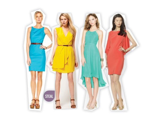 petites - dresses to wear to weddings for petites