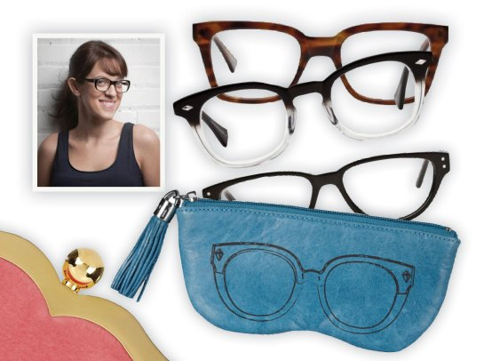 BonLook Co-founder, Tortoise Shell Glasses, Clear Frames, Rebecca Minkoff