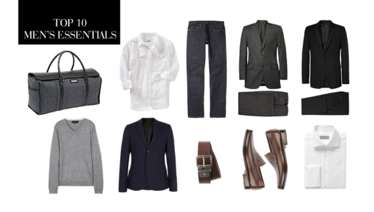 Top 10 Wardrobe and Closet Essentials For Men