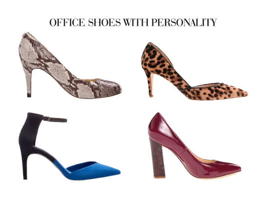 office heels with personality - work clothes