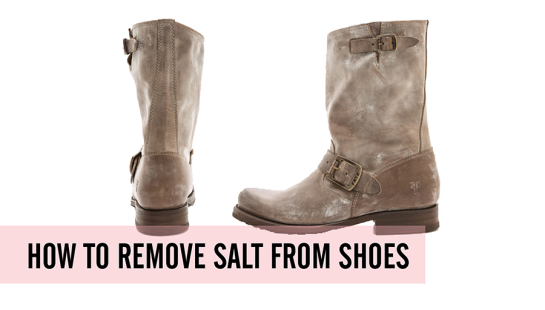 How To Clean Salt Off Of Leather Boots and Shoes
