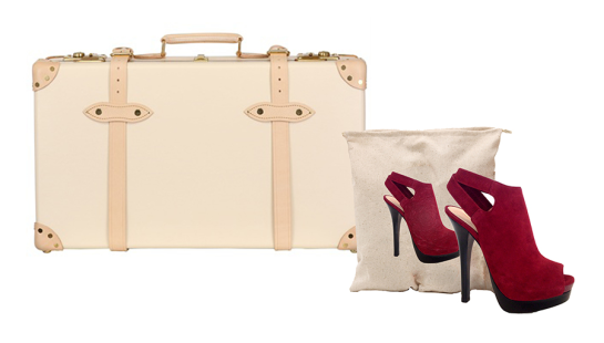How To Pack Shoes and Handbags For Travel