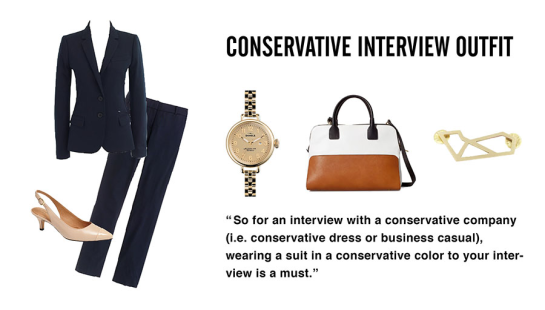 Conservative Interview Outfit Idea