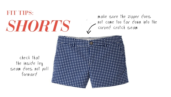 Tips on how to find shorts that fit well