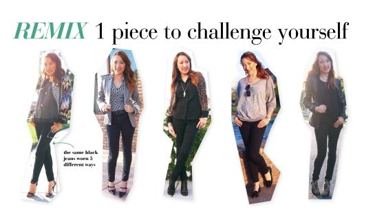 how to wear black jeans 5 ways