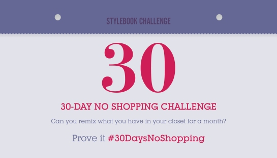 30 Day No Shopping Challenge