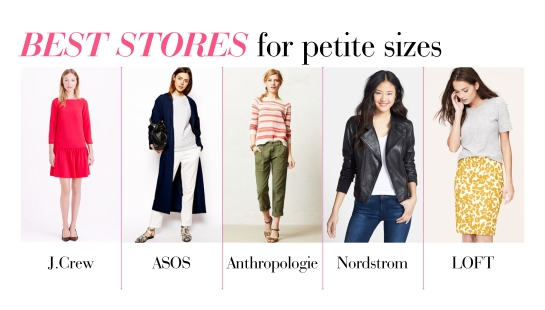 best stores for petite sizes