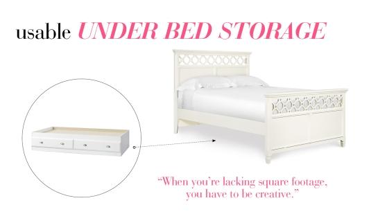 Effective Under Bed Storage
