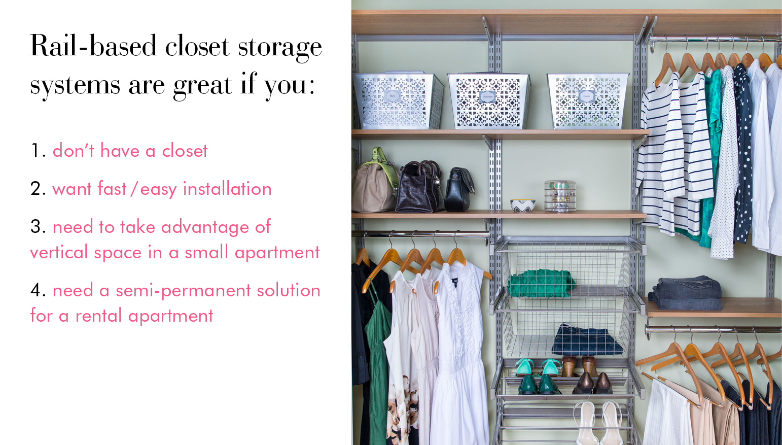 What To Do You If Your Bedroom Doesnu0027t Have A Closet