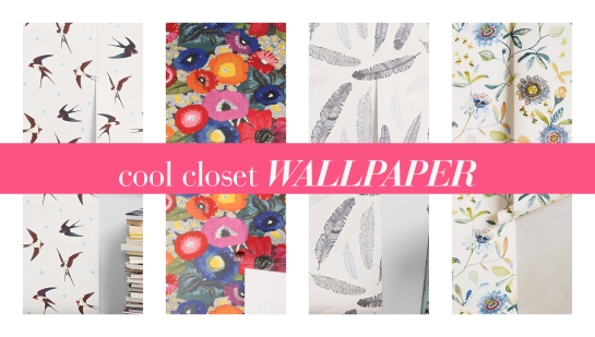Great Wallpaper For Closet Walls