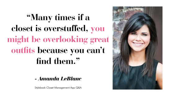 Best Closet Organization Tip and Quote