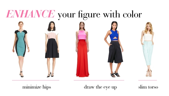 How To Flatter Your Figure With Color