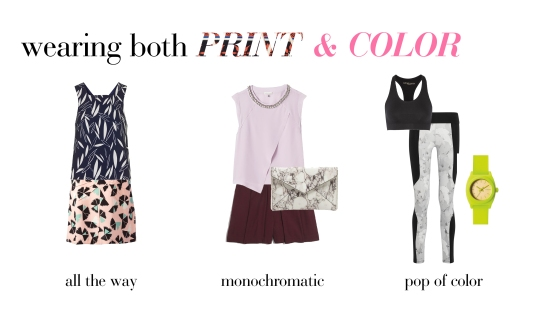 How To Wear Color and Prints