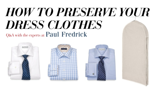 How To Care For Your Dress Clothes