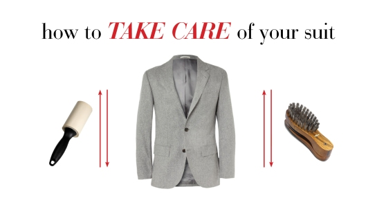 How To Care For A Suit