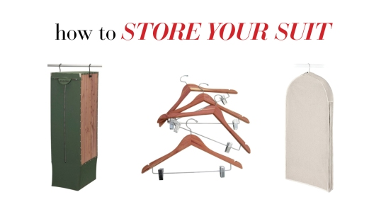 How To Store Your Suit