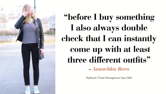 Style Advice from Anuschka Rees of Into Mind