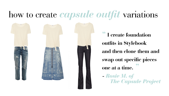 How To Create Outfits For Your Capsule Wardrobe
