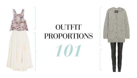 Outfit Proportion Rule