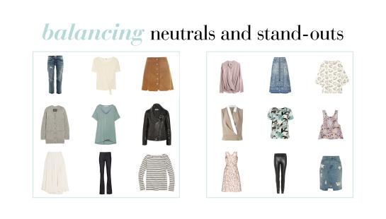 Balancing Your Capsule Wardrobe